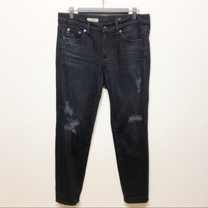 AG Adriano Goldschmied 28 10 Beau Slouch Jeans